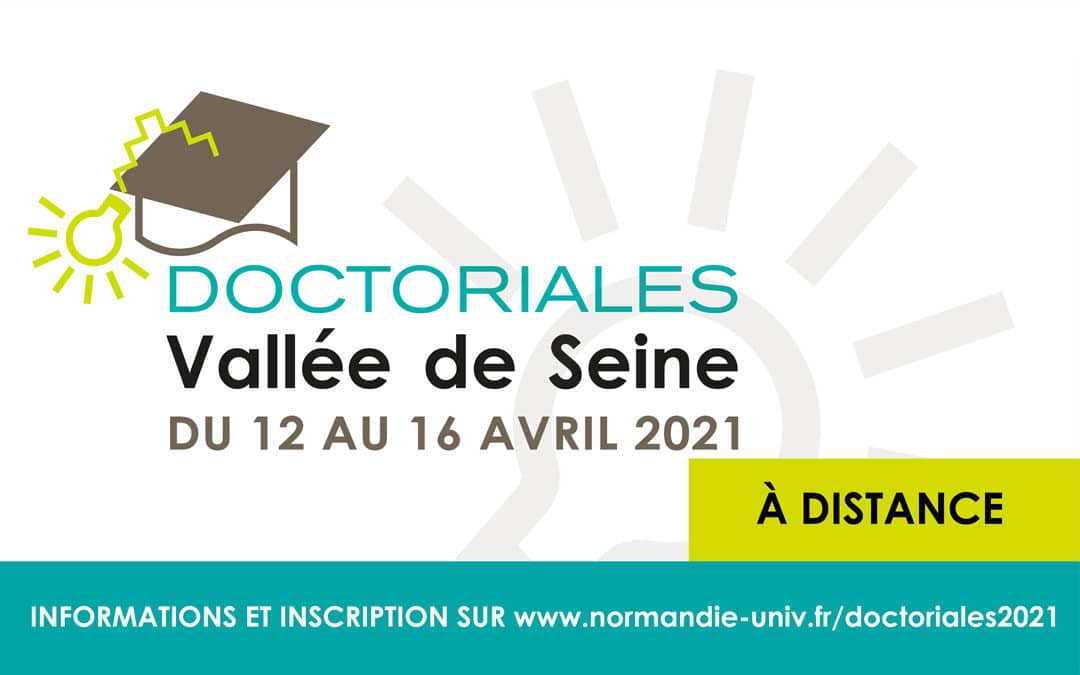 Doctoriales Vallée de Seine 2021