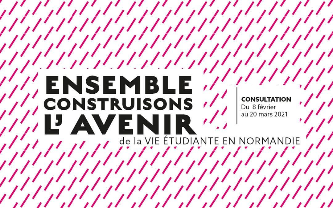 Ensemble, construisons l'avenir de la vie étudiante en Normandie