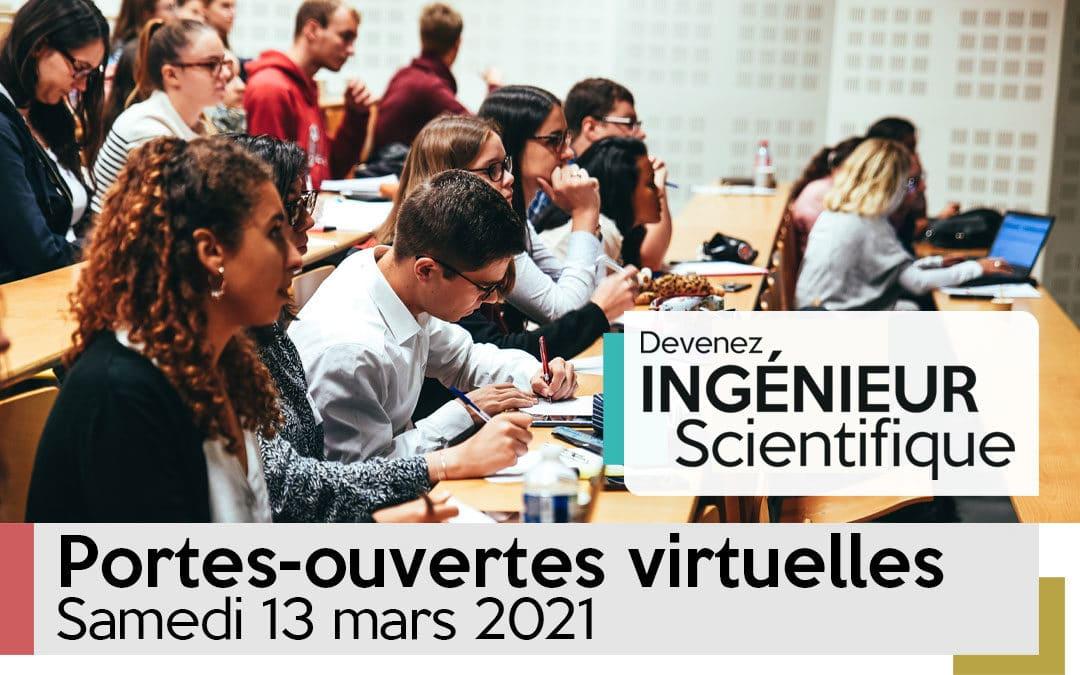 Journée portes-ouvertes virtuelles 2021
