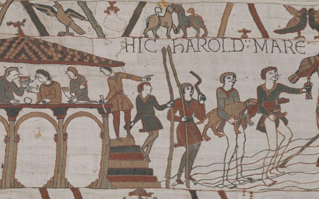 La Tapisserie de Bayeux reconstruite par le GREYC