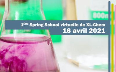 1ère Spring School de XL-Chem