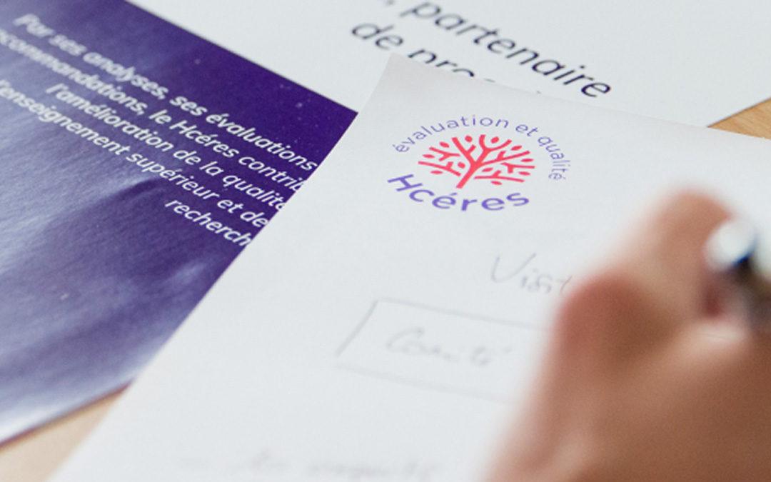 Rapport d'évaluation Hcéres 2021